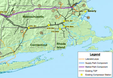 Natural Gas Availability Map Rhode Island