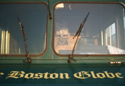 Boston Globe's printing problems are impacting delivery