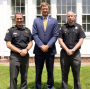 Sheriff Evangelidis Promotes 2 Officers to Captain