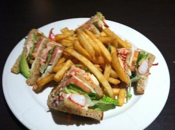Lobster Newburg Pizza | Lobster House