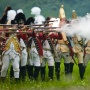 Revolutionary War reenactment at Old Sturbridge Village