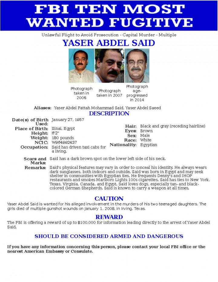 GoLocalWorcester | FBI's Most Wanted Terrorist List - Who