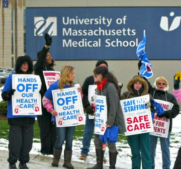 Golocalworcester Umass Memorial And Nurses Union Clash