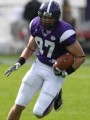 Senior tight end Alex Schneider excels as a blocker and receiver for the Crusaders.