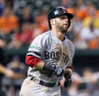 Dustin Pedroia's RBI single gave the Red Sox the lead for good