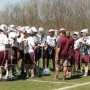 The Northbridge boys lacrosse team came up with the idea to construct a Boston Strong Classic.