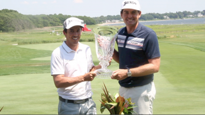 Jon Curran and Keegan Bradley