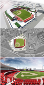 One of the proposed sites for the PawSox in Providence