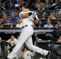 Aaron Judge hit a two run home run to beat Red Sox