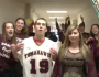 Giles Ober doing his part in the 2013 lip dub video