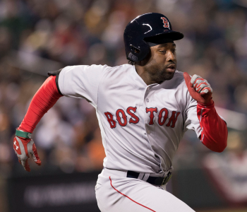 Jackie Bradley Jr. had a 2 RBI triple to help Red Sox win