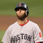 Dustin Pedroia left the game in the 8th inning with a knee injury
