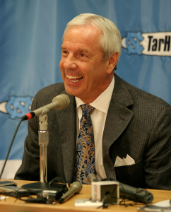 North Carolina head coach Roy Williams going back to the Final Four.