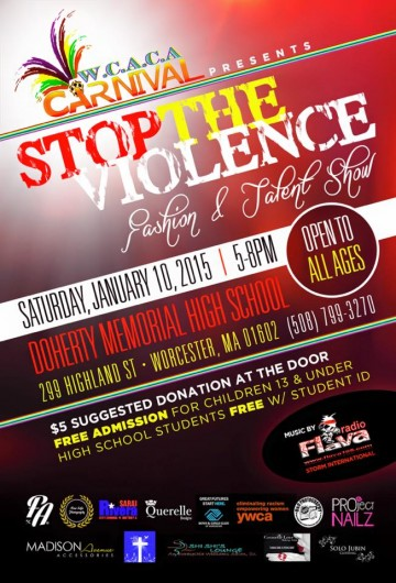 golocalworcester stop the violence fashion and talent show at doherty high