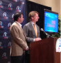 Billy Andrade and Brad Faxon were on hand this morning in Providence to announce the 2013 CVS Caremark Charity Classic lineup.