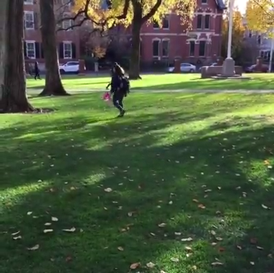 Golocalworcester Video Brown University Student Trashes